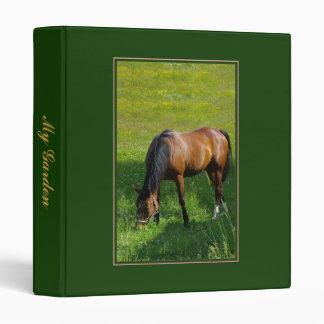 Horse #1 3 ring binder