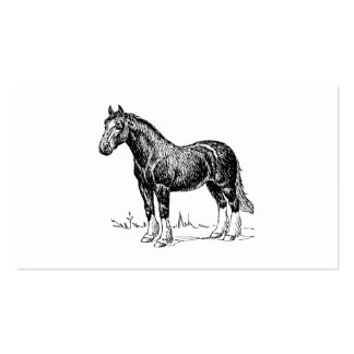 Horse 1 business card
