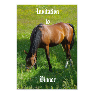 Horse #1 card