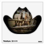 Horse 1 Cowboy Hat Wall Decal