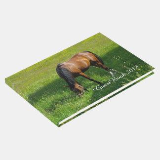 Horse #1 guest book