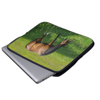 Horse #1 laptop computer sleeve