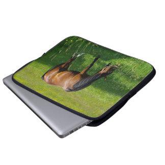 Horse #1 laptop computer sleeve