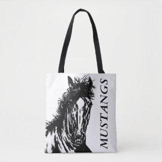 Horse 1 - mustang tote bag