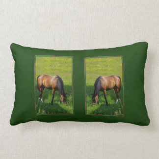 Horse #1 throw pillow