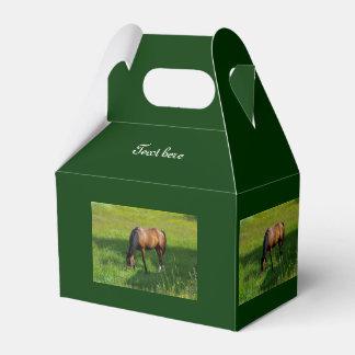 Horse #1 wedding favor box
