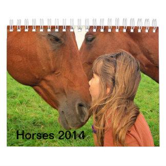 Horse 2014 Wall Calendar