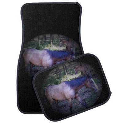 Horse Design Car Floor Mat