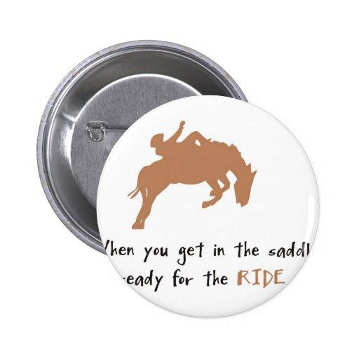horse 2 inch round button