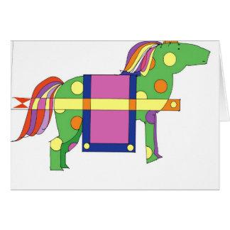 horse 300dpi copy card