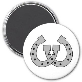 horse 3 inch round magnet