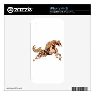 Horse 3 iPhone 4S decal