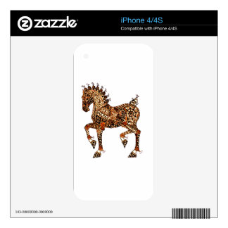 Horse 9 iPhone 4S decal