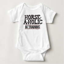 Horse-A-Holic In Training Infant Creeper