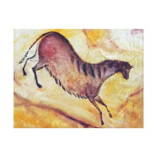 horse a la Altamira Canvas Print