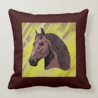 Horse American MoJo Pillows