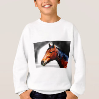 Horse and a blade of grass sweatshirt