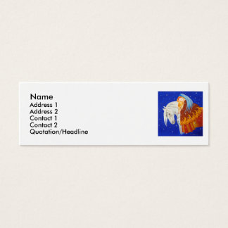 Horse and Angel Mini Business Card