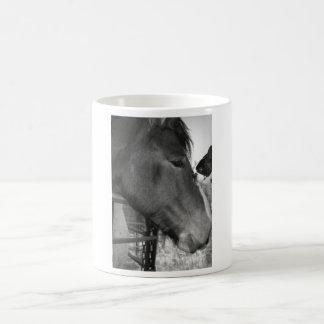 Horse and Boston Terrior Coffee Mug