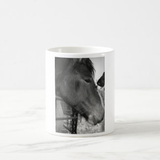 Horse and Boston Terrior Coffee Mugs