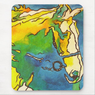 Horse and Bridle Mousepad