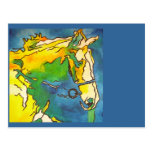 Horse and Bridle Postcard