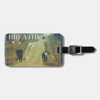 Horse and Buggy and Bicycles Bag Tag