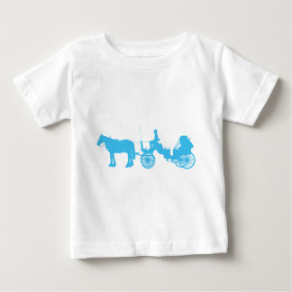 Horse and Buggy Baby T-Shirt