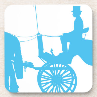 Horse and Buggy Beverage Coaster