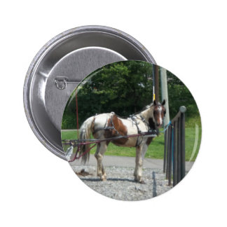 Horse and Buggy Pin