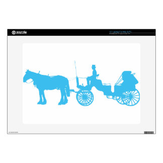 Horse and Buggy Decals For Laptops