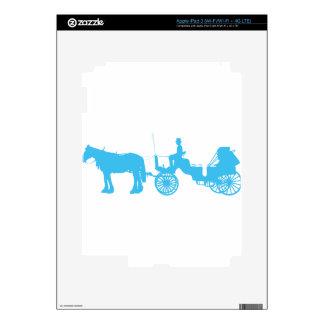 Horse and Buggy iPad 3 Skin