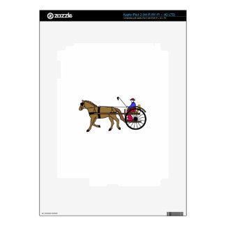 Horse and Buggy iPad 3 Skins