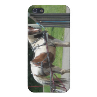 Horse and Buggy Cover For iPhone 5