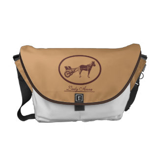 Horse and Buggy Logo Courier Bag