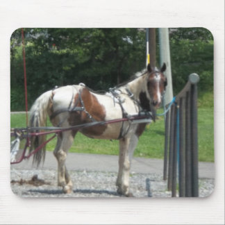 Horse and Buggy Mouse Pad