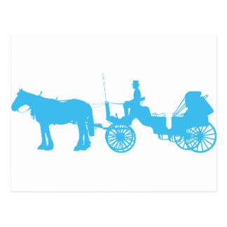 Horse and Buggy Postcard
