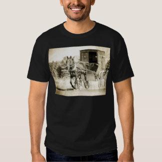 Horse and Buggy Sepia Shirt