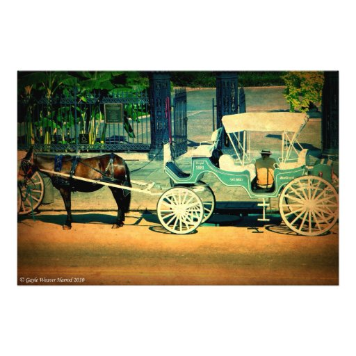 """""""Horse and Carriage"""" Color Print Photo Print"""