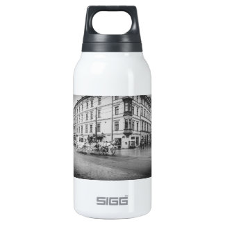 Horse and Carriage in Krakow, Poland 10 Oz Insulated SIGG Thermos Water Bottle