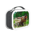Horse and carriage lunchbox