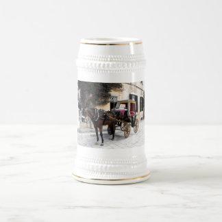 Horse and carriage, Mdina, Malta Coffee Mug