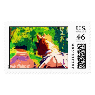 HORSE AND CARRIAGE POSTAGE STAMP
