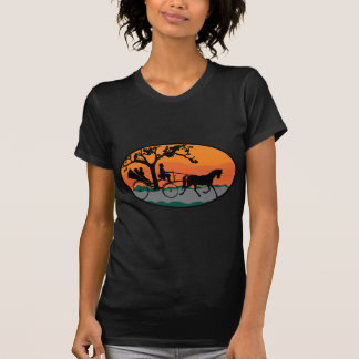 Horse and Carriage Ride Tshirt