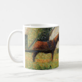 Horse and Cart by Georges Seurat Coffee Mug