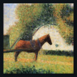 "Horse and Cart by Georges Seurat Photo Print<br><div class=""desc""></div>"