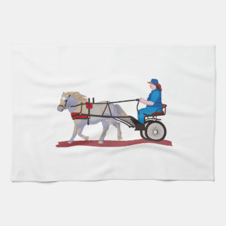 Horse And Cart Hand Towel