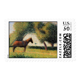 Horse and Cart Postage