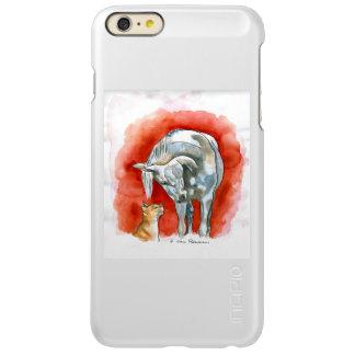 Horse and Cat Incipio Feather® Shine iPhone 6 Plus Case