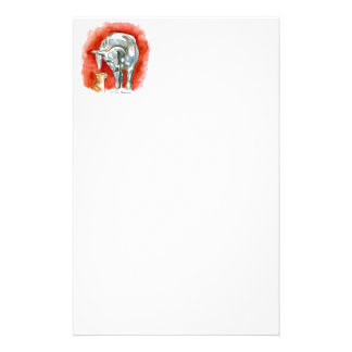 Horse and Cat Stationery
